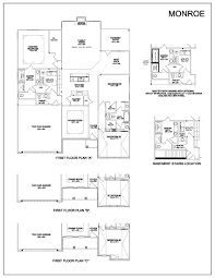 floor plans monroe kentucky homes for sale
