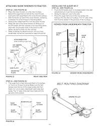 page 14 of craftsman snow blower 486 248371 user guide