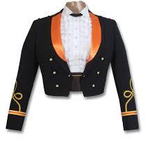 officer premium blue mess jacket