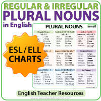 plural nouns regular irregular how to make plural words english