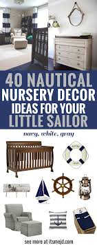 Nautical Nursery Decor 40 Nautical Nursery Decor Ideas For Your Sailor Png