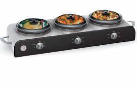 amazon com sensio 13408 bella cucina buffet station with 3 2 1 2