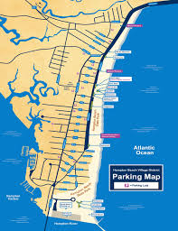 New England Maps by Hampton Beach Nh Parking Lot Map New England Coast Vacation