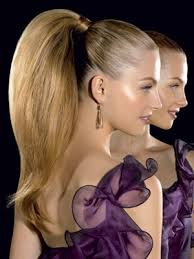 pony hair formal hair styles prom salon trends