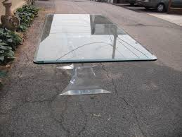 large glass top dining table furniture gorgeous large oval 3 4 bevelled glass top dining table