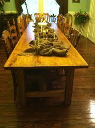 custom built dining room tables 12 u0027 x 3 u0027 farmhouse style cypress dining table custom built