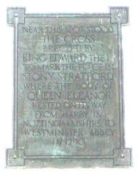 Blue Barns Hardingstone Queen Eleanor Cross Lincoln Northampton Waltham Cross Geddington