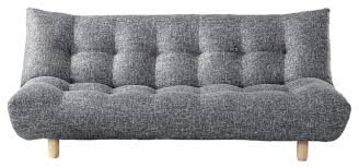 florence sofabed klik klak knit and gray full modern futons