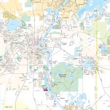 Elgin Illinois Map by Waterway Map Fox Waterway Agency