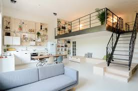 old building converted into modern family loft apartment