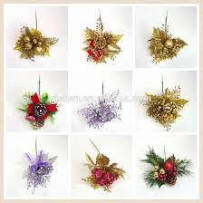 christmas picks wholesale christmas wreath decorations gold artificial christmas