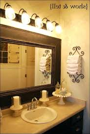 Decorative Bathroom Mirrors Uk Wall Full Size Round Oval Mirror