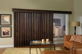 Wood Panel Windows Designs Woven Wood Panel Shades Can Easily Cover Large Windows Or Sliding