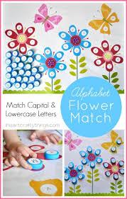 printable alphabet mat flower alphabet matching free printable i heart crafty things