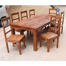 wooden kitchen table and chairs rustic 8 person large kitchen dining table solid wood 9 pc wood