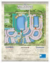 Vero Beach Florida Map Vero Beach Community Site Plan Millstone Landing