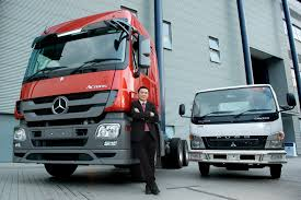 mercedes benz m u0027sia commercial vehicles delivers 300th fuso truck
