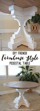 chunky wood table legs restoration hardware inspired dining table for 110 restoration