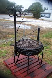 cowboy fire pit cowboy cooker and oysters conversation farm