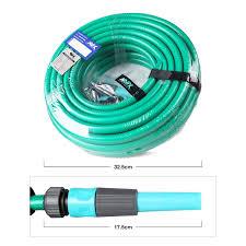 a11244 garden hose 66ft 5 8inch 2pcs adjustable spray nozzle