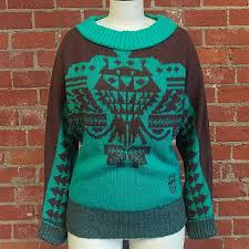 54 off diesel sweaters diesel aztec tribal dolmen sweater from