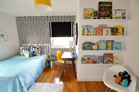mid century modern kids bedroom