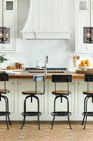 kitchen island stools with backs how to choose the right stools for your kitchen how to decorate