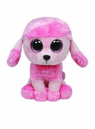 amazon com ty beanie boos princess the poodle toys u0026 games