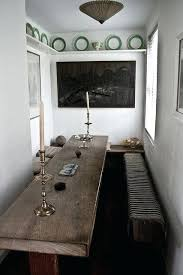 long narrow rustic dining table narrow rustic dining table kitchen table marble dining table counter