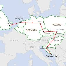 Map Eastern Europe Eastern Highlights A 15 Day Group Tour In Eastern Europe
