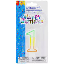 number birthday candles birthday number candle dollartree
