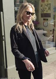 casual with kate moss meets up with beau count nikolai bismarck in chelsea