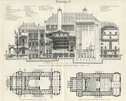 Opera House Floor Plan | old architectural floor plans floor plans the hungarian state