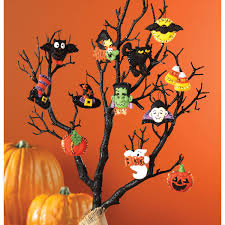 halloween tree with ornaments bucilla seasonal felt ornament kits halloween 86430