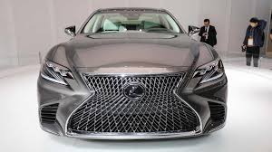 lexus ls hybrid 2018 price 2018 lexus ls 500h will flex its muscle at geneva 2017 automotorblog