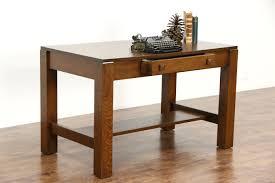 sold arts u0026 crafts mission oak 1905 antique library table or