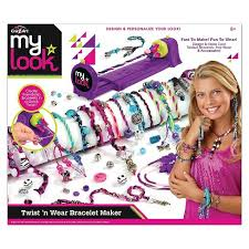 bracelet maker images My look twist 39 n wear fashion maker by cra z art target