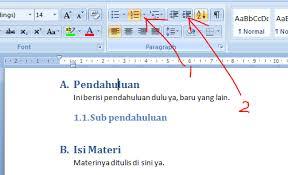 cara membuat daftar gambar word membuat daftar isi di ms word 2007 universitas indonesia onggo