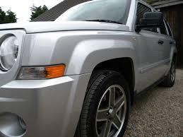 dark gray jeep patriot used jeep patriot 2 4 limited 4x4 bright silver 2 4 estate