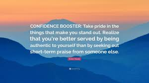 Seeking Robin Robin Meade Quote Confidence Booster Take Pride In The Things