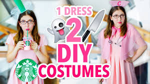 king of queens halloween costume 2 costumes 1 dress diy scream queens u0026 starbucks pink drink