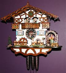 fancy german cuckoo clocks that play edelweiss i want one