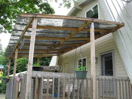 Pergola Plastic Roof by Suntuf Roofing Material Backyard Chickens