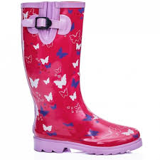 womens wellington boots australia womens pink butterfly wellies wellington boots boots from