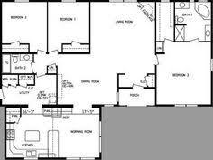 Mobile Home Floor Plans Single Wide Triple Wide Mobile Home Floor Plans Double Wide Home Plans