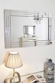 Venetian Home Decor by Large Glass Bevelled Wall Mirror U2013 Harpsounds Co