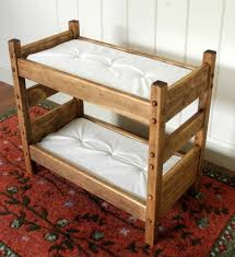 18 Inch Doll Bunk Bed Inch Doll Furniture Bunk Bed For American Dolls And 18 Dolls