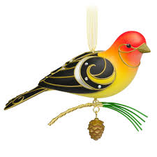 2015 of birds western tanager hallmark keepsake ornament