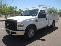 2008 Ford F350 Utility Truck - used 2009 ford f350 srw service utility truck for sale in az 2234