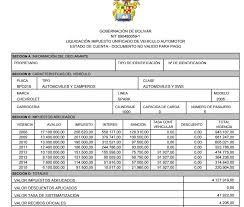 impuestos vehiculos valle 2016 pasos para liquidar su impuesto vehicular en el departamento de